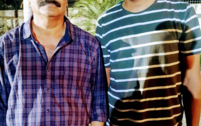 With Director VKP